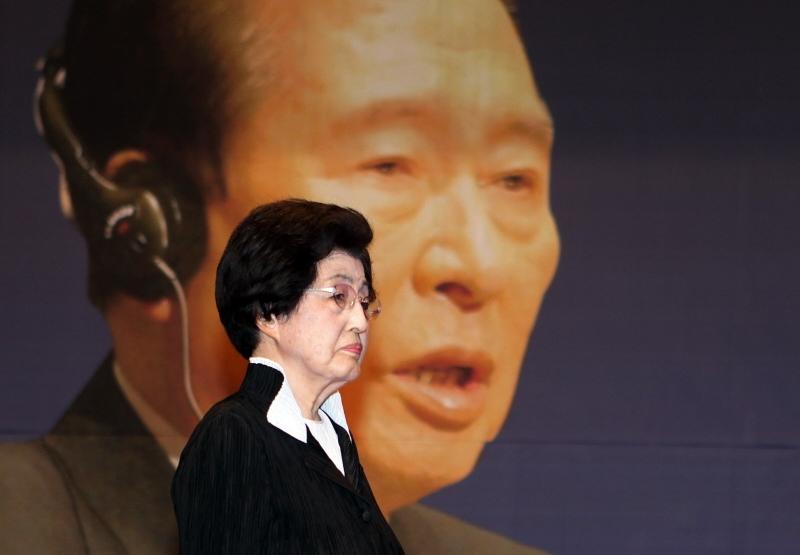 Скончалась вдова Ким Дэ Чжуна.jpg