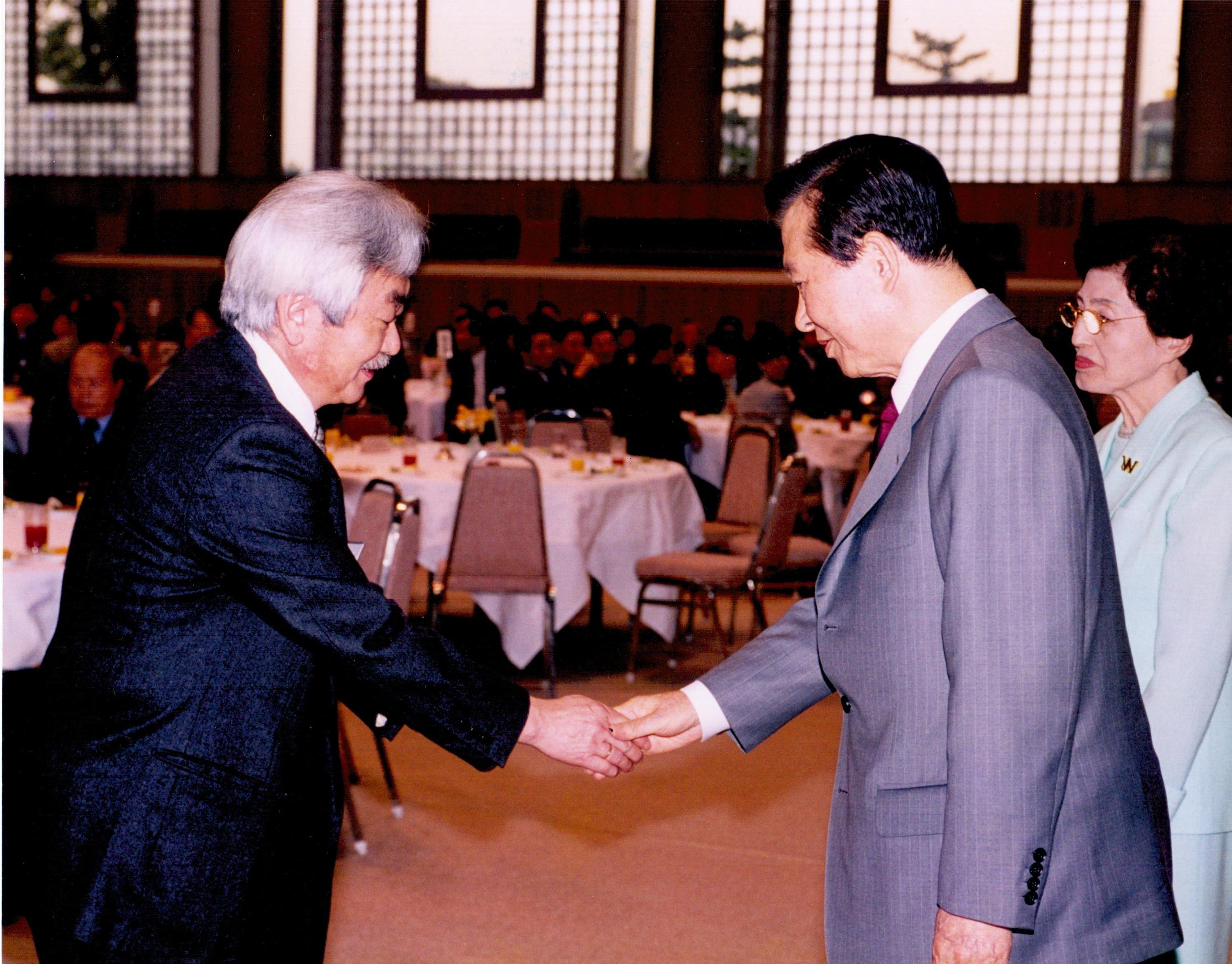 С президентом Республики Корея Ким Дэ Джуном.jpg